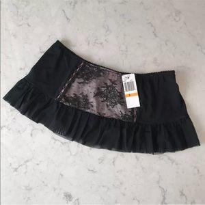 NWT Jezebel Ruffle Skirt